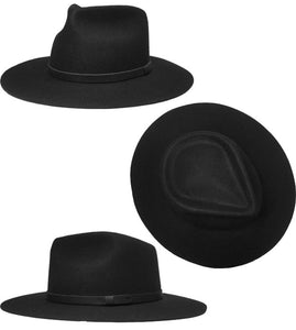 NEW YORK HAT- JESSE- BLACK