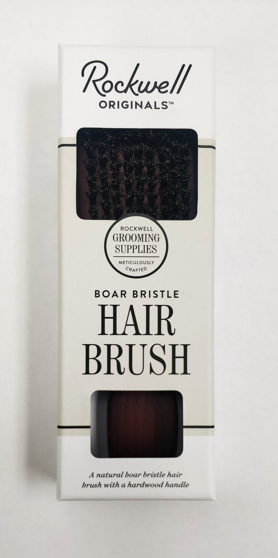 ROCKWELL | BOAR BRISTLE HAIR BRUSH