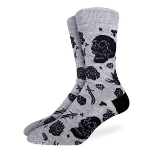 GOOD LUCK SOCK | SKULLS