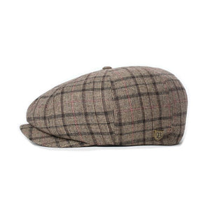 BRIXTON- BROOD LW SNAP CAP- DARK BROWN