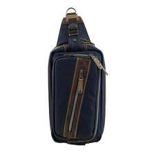 Load image into Gallery viewer, HARVEST LABEL- NAVY SLINGER CROSSBODY