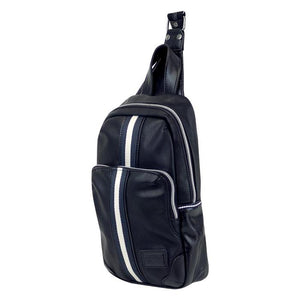 HARVEST LABEL- BLACK PORTSMAN SLING BAG