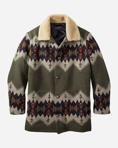 PENDLETON | MEN'S BROWNSVILLE SHEARLING-COLLAR COAT