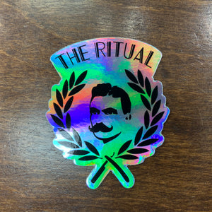 RITUAL MERCH- HOLOGRAM STICKER