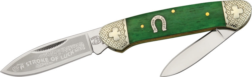 BLUE RIDGE- A STROKE OF LUCK POCKET KNIFE