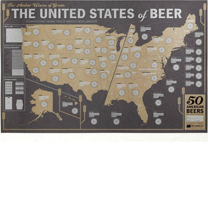 33 BOOKS- BEER MAP