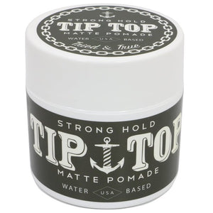 TIP TOP POMADE- STRONG HOLD MATTE