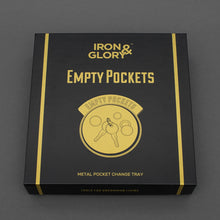 Load image into Gallery viewer, IRON & GLORY- EMPTY POCKETS CHANGE TRAY