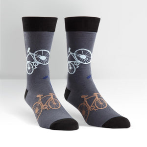 SOCK IT TO ME- LARGE BIKES MEN'S CREW SOCKS