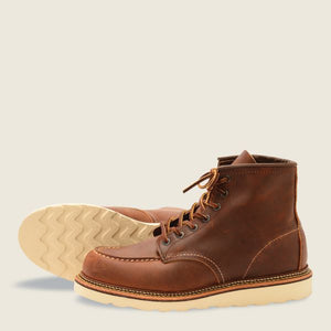 REDWING- CLASSIC MOC- COPPER ROUGH AND TOUGH-1907