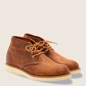 REDWING- WORK CHUKKA- COPPER ROUGH AND TOUGH- 3137