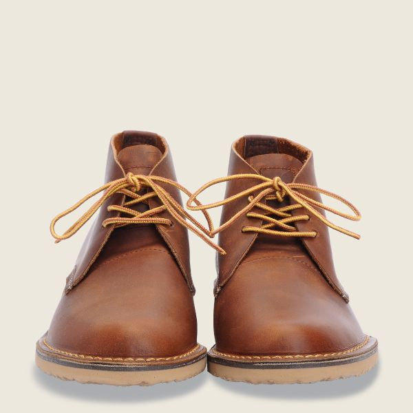 REDWING- WEEKEND CHUKKA- COPPER 3322