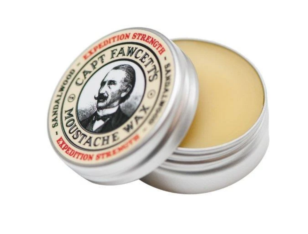 CAPT FAWCETT'S | MUSTACHE WAX | EXPEDITION STRENGTH