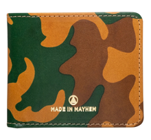 Load image into Gallery viewer, MADE IN MAYHEN- LIMITED EDITION CAMO BIFOLD