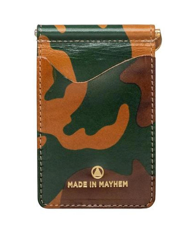 MADE IN MAYHEM- LIMITED EDITION CAMO MONEY CLIP