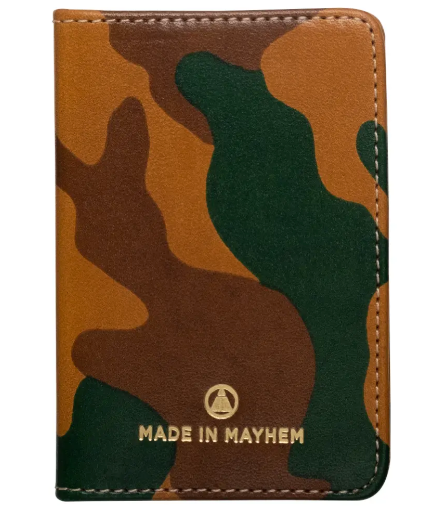 MADE IN MAYHEM- LIMITED CAMO WALLET