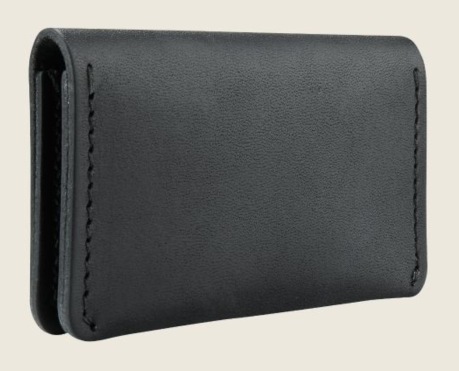 REDWING- CARD HOLDER WALLET- BLACK FRONTIER