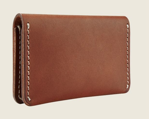 REDWING- CARD HOLDER WALLET- ORO RUSSET FRONTIER