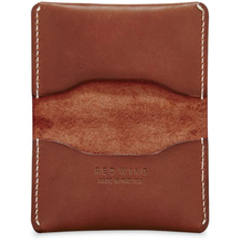 Load image into Gallery viewer, REDWING- CARD HOLDER WALLET- ORO RUSSET FRONTIER