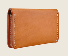 Load image into Gallery viewer, REDWING- CARD HOLDER WALLET- LONDON TAN-VEG