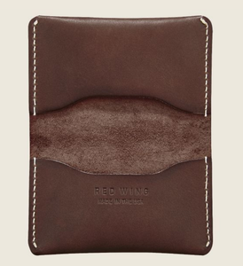 REDWING- CARD HOLDER WALLET- AMBER FRONTIER