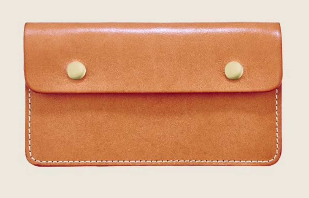 REDWING- TRUCKER WALLET- LONDON TAN