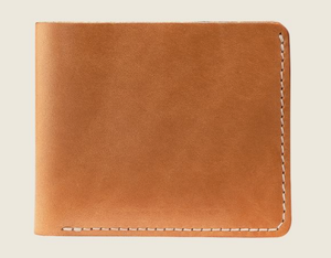 REDWING- BIFOLD WALLET- LONDON NATURAL TAN