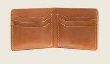 Load image into Gallery viewer, REDWING- BIFOLD WALLET- LONDON NATURAL TAN