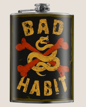 Load image into Gallery viewer, TRIXIE & MILO- BAD HABIT FLASK