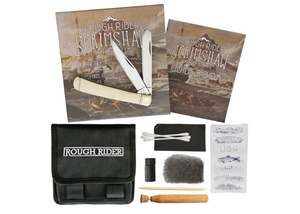 ROUGH RYDER- SCRIMSHAW KNIFE KIT