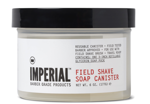 IMPERIAL- FIELD SHAVE SOAP CANISTER