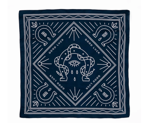 BANDITS BANDANAS- GOOD LUCK