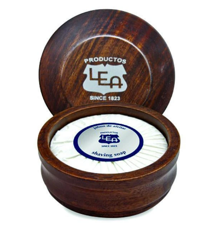 LEA CLASSIC- SHAVING SOAP IN WOODEN BOWL