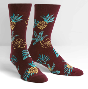 SOCK IT TO ME- HAWAIIAN SOCK DAY MEN'S CREW SOCKS