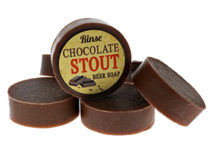 RINSE- CHOCOLATE STOUT BEER SOAP
