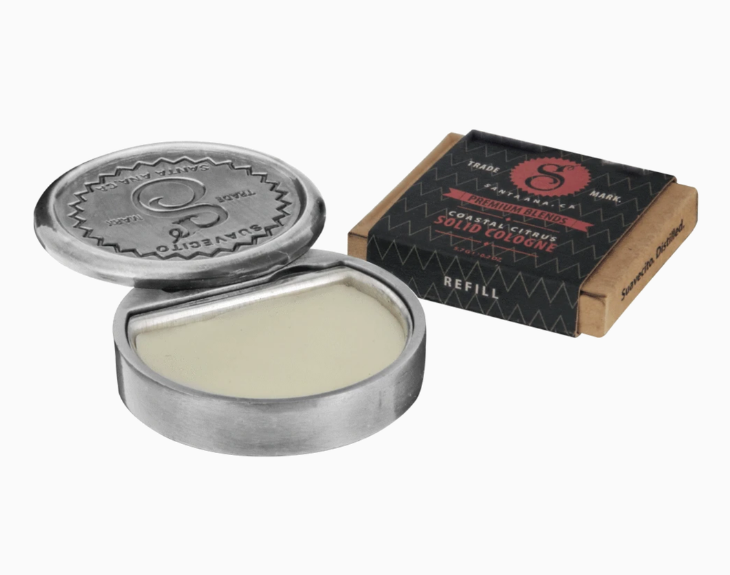 SUAVECITO- COASTAL CITRUS SOLID COLOGNE
