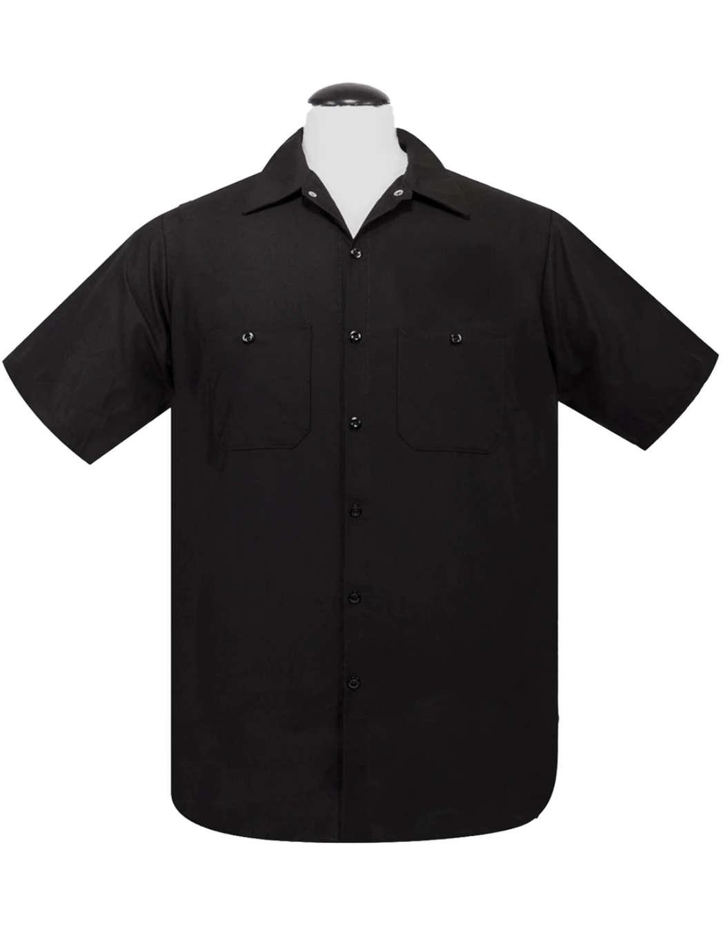 STEADY- WORK SHIRT- BLACK