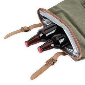 FOSTER & RYE- INSULATED CANVAS COOLER
