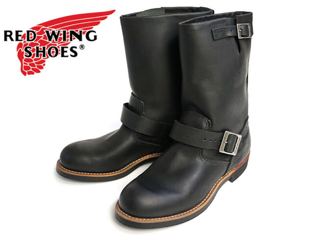 REDWING- ENGINEER BOOT- BLACK