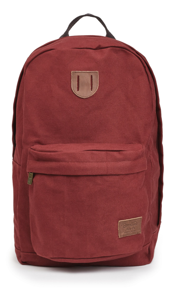 BRIXTON- BASIN BASIC BACKPACK- BURGUNDY