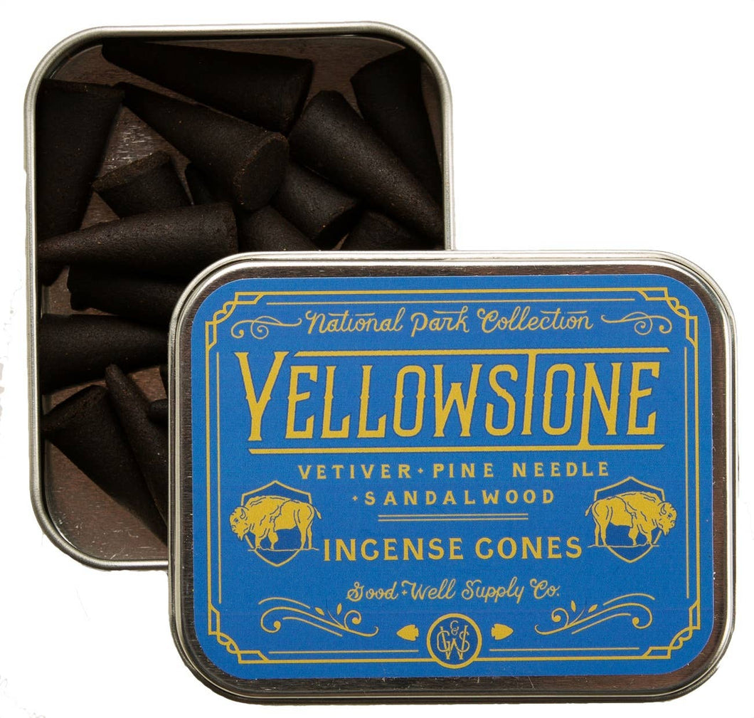 GOOD & WELL | YELLOWSTONE INCENCE CONES