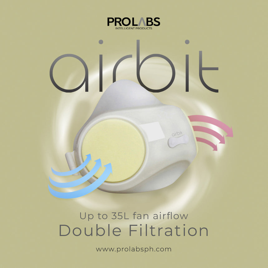 Buy 2, Get 1 AIRBIT - Kids' Breathable Mask