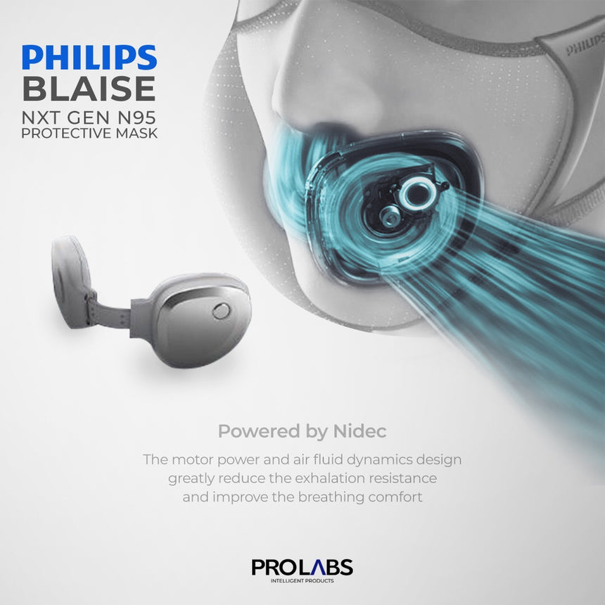 Philips-Blaise FRESH AIR NXT GEN N95 Breathable Mask