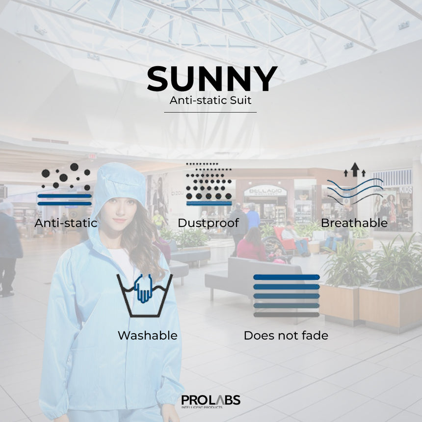 Sunny - Anti-Static Suit (2 piece)