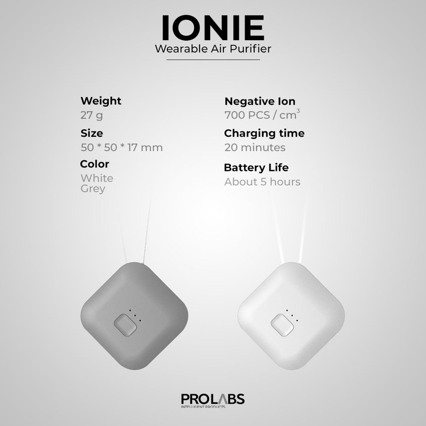 IONIE Wearable Air Purifier