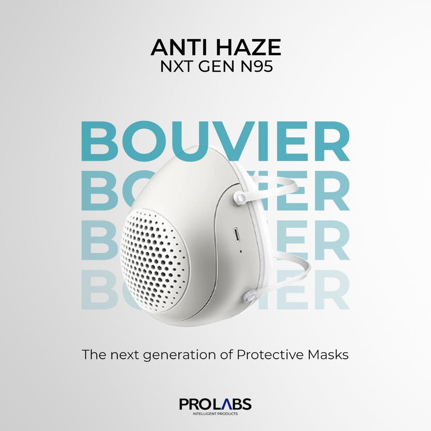 Buy 1, Get 1 Bouvier SMART NANO Technology N95 Breathable Mask