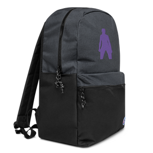 Silhouette Embroidered Champion Backpack