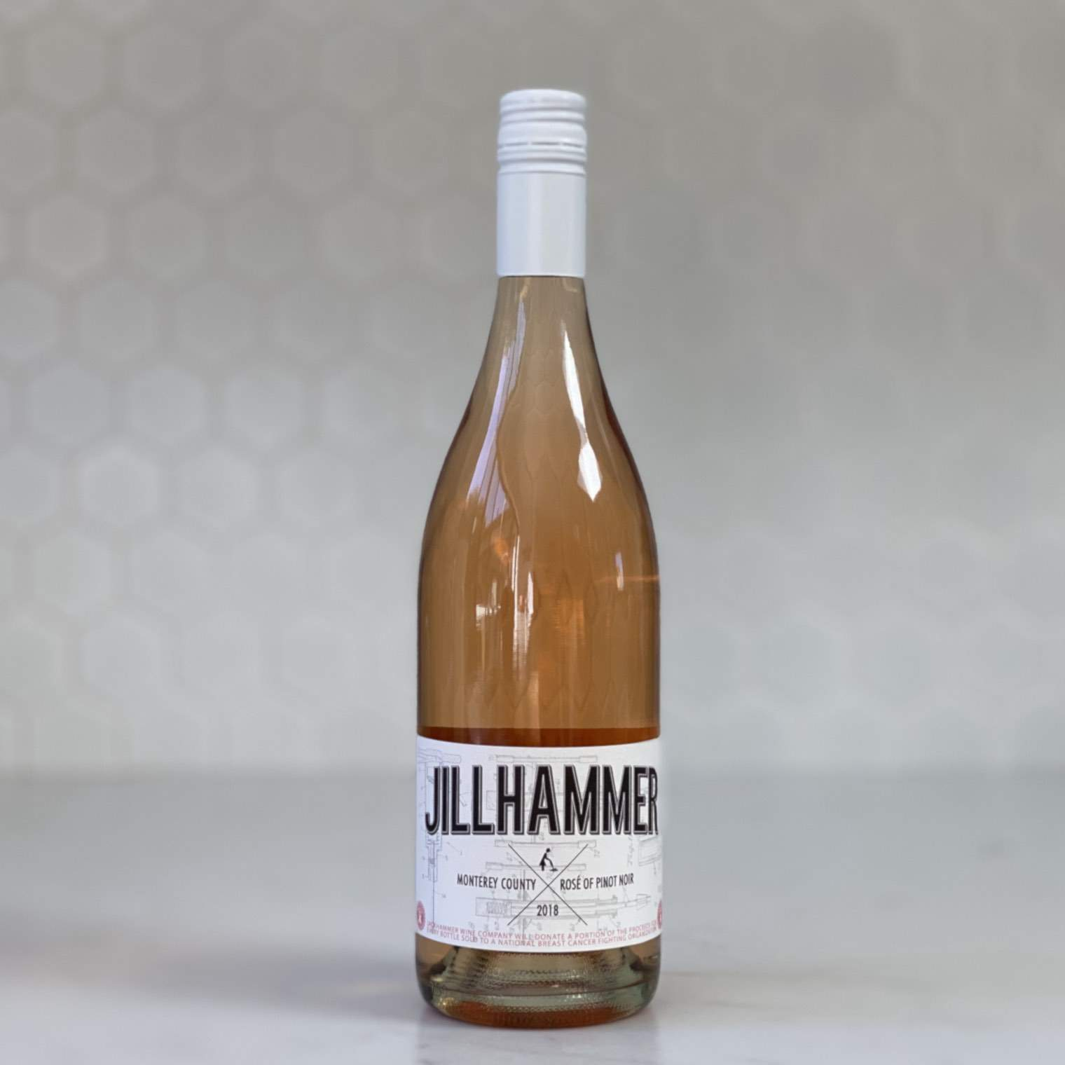 JACKHAMMER WINE CO kristy's vineyard jillhammer rose 2018