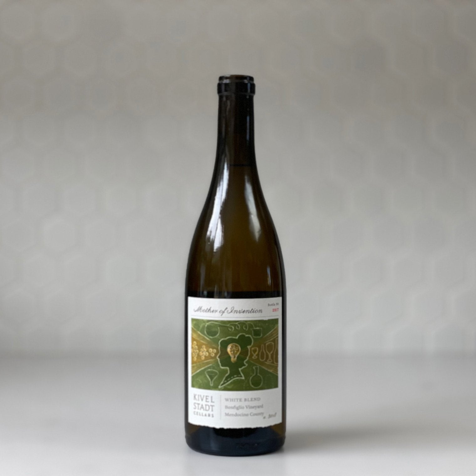 "KIVELSTADT CELLARS ""mother of invention"" white rhone blend 2018"