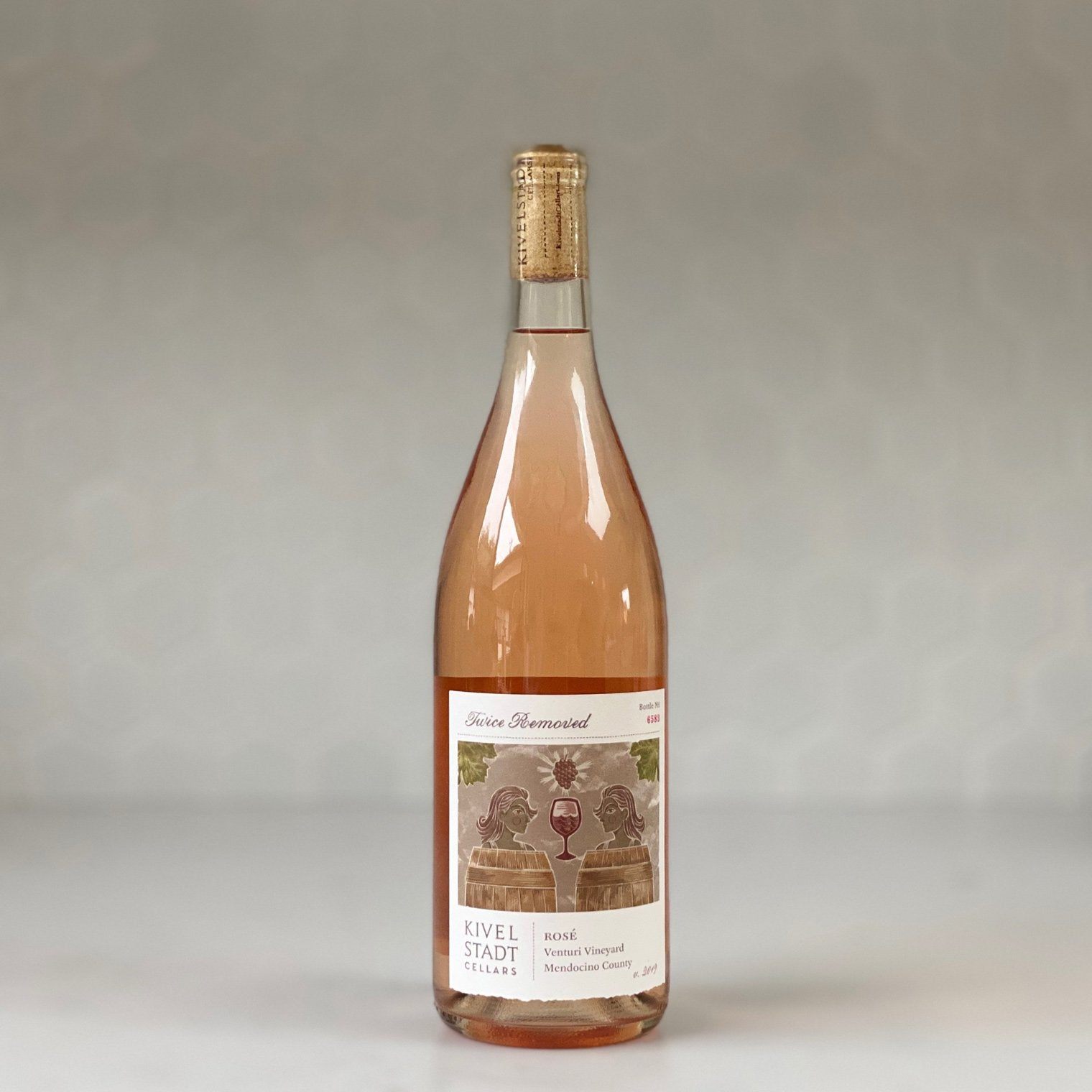 "KIVELSTADT CELLARS ""twice removed"" rose 2019"